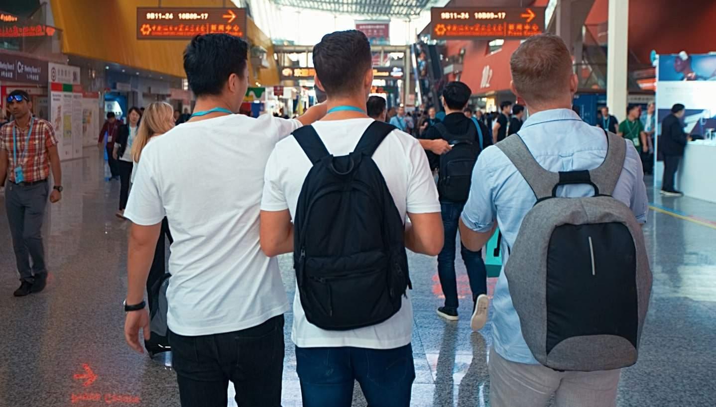 canton fair tips rucksacks