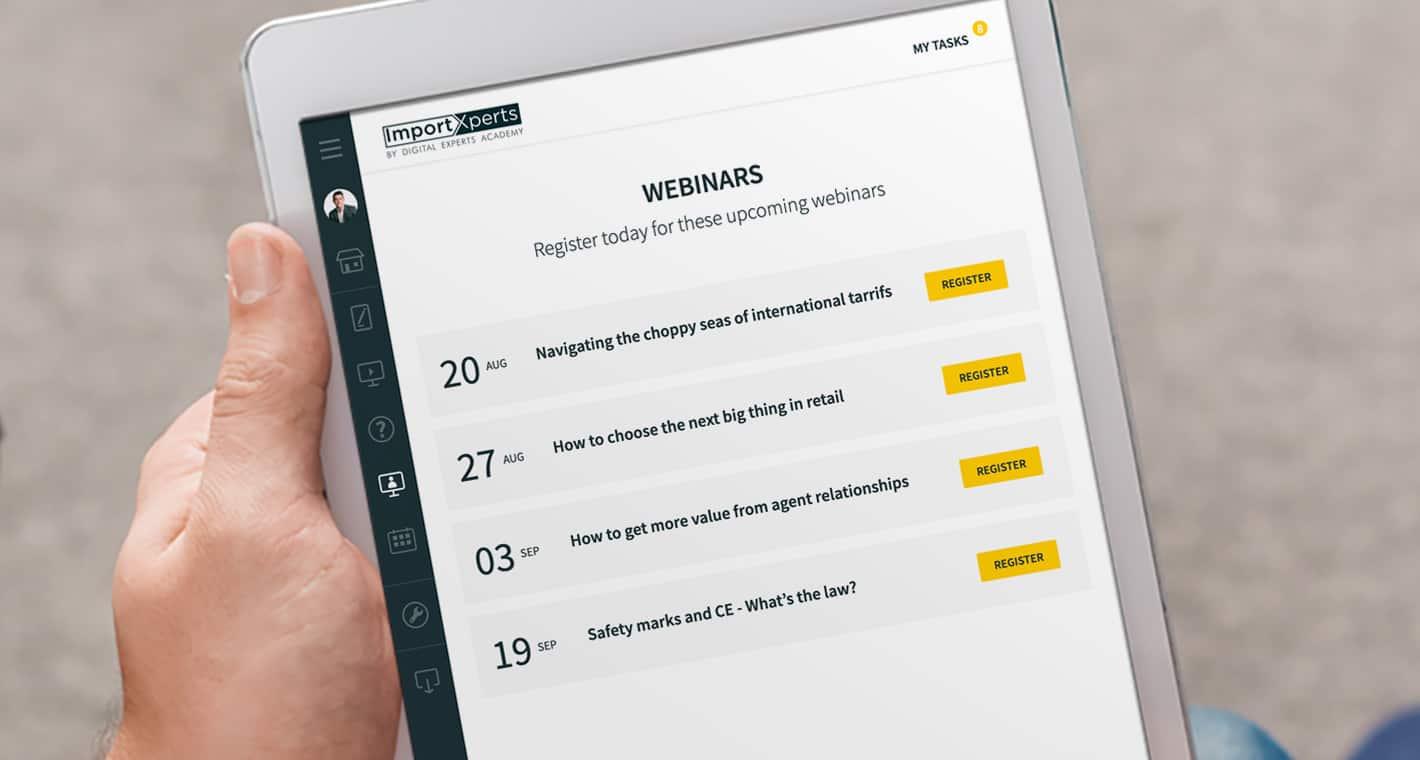 importxperts updates webinar