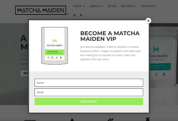 how to increase conversion rates matcha maiden