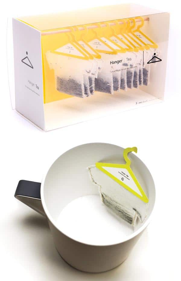 importance of packaging hanger tea bags